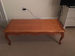 Wood Coffee Table for Sale in West Palm Beach, FL
