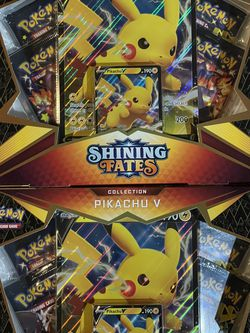 New Shining Fates Pikachu boxes for Sale in Bellevue,  WA