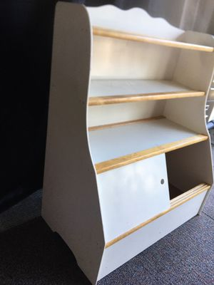 Drawer , book shelf , toy box great condition for Sale in Kent, WA