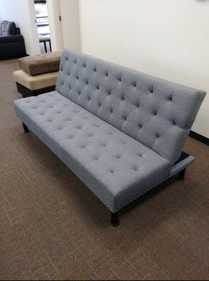 New Grey linen Futon for Sale in Puyallup, WA