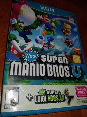 Super mario bros wii U nintendo 💿 for Sale in Los Angeles, CA