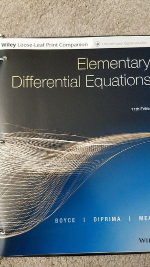 Elementary Differential Equations textbook for Sale in Mesa, AZ