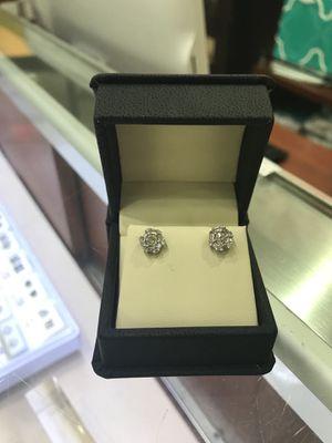 1.25 Carat Diamond Earrings for Sale in Haines City, FL