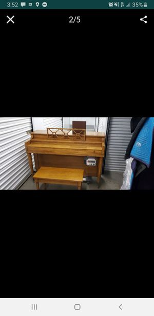 Upright Piano with cassette player for Sale in Los Angeles, CA