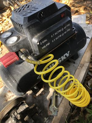 Husky air compressor for Sale in Los Angeles, CA