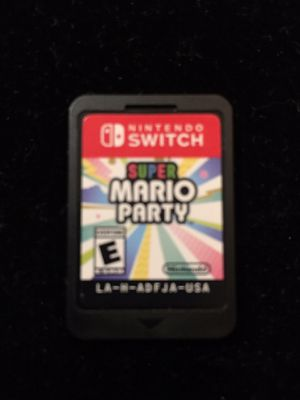 Super Mario Party (Nintendo Switch, 2018) Game Cartridge Only for Sale in Atlanta, GA