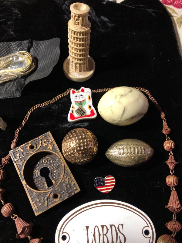Antique collection smalls 18 pieces