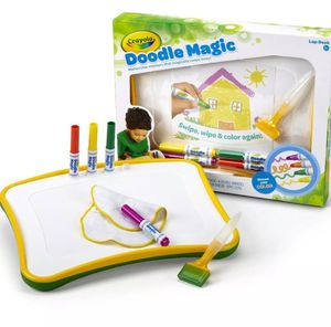 Crayola Doodle Magic Lap Desk Drawing Board Creative Toy  Yellow-Green for Sale in Seattle, WA