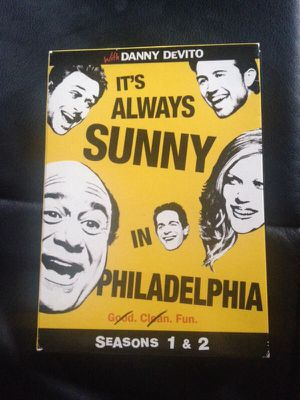 DVD always sunny in Philadelphia seasons one and two for Sale in Detroit, MI
