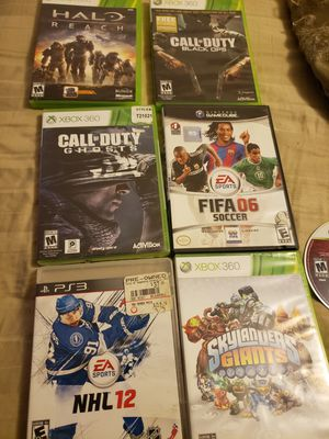 Ps3 y xbox 360 games for Sale in Revere, MA