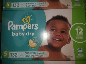 Pampers all sizes and Wipes for Sale in Los Angeles, CA