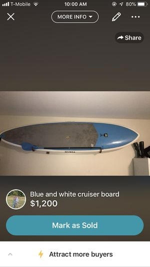 11' paddle board for Sale in Santa Monica, CA