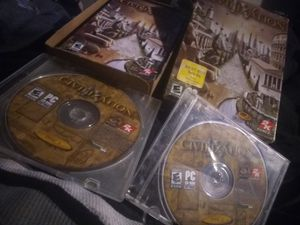 PC CD ROM CIVILIZATION IV 2disc brand-new for Sale in Perris, CA