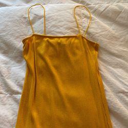 FashionNova Women's Yellow Body Icon Dress for Sale in Alexandria,  VA