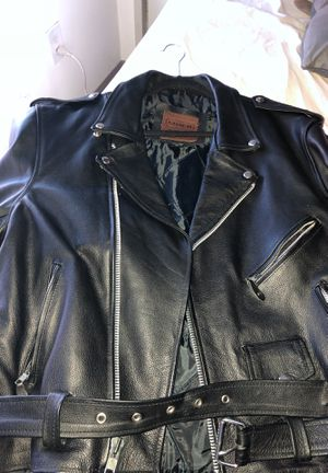 Coach leather coat for Sale in Boston, MA