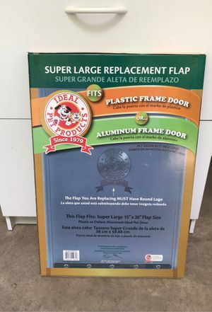 Dog Door Replacement Flap super large for Sale in Stanwood, WA