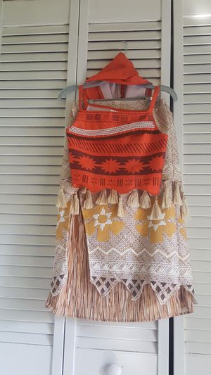 Moana costume size 9/10 for Sale in Miami, FL