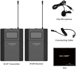 K&F Lavalier Microphone Video - Sony Canon Nikon - Film - students for Sale in West Covina, CA