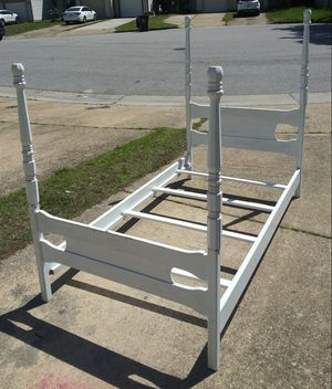 Twin Poster Bed (Project) for Sale in Virginia Beach, VA