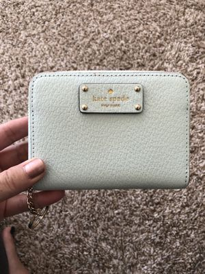 Authentic Kate Spade mint green small wallet - BRAND NEW for Sale in Gainesville, VA