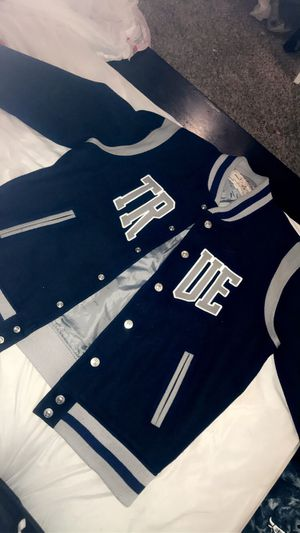3XL True Religion Varsity Jacket for Sale in Las Vegas, NV