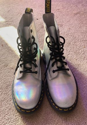 Holographic Dr Marten Boots for Sale in Chattanooga, TN