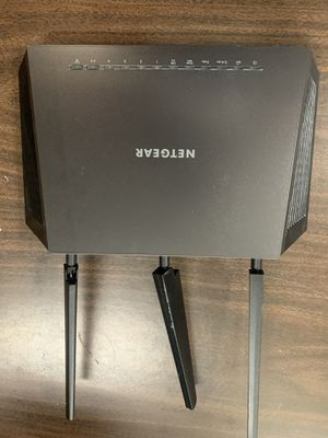 Wireless router and modem. for Sale in Tacoma, WA
