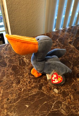 Scoop beanie baby with errors (rare) for Sale in Kent, WA