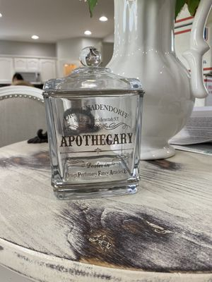 Small Glass Apothecary Jar for Sale in Kent, WA