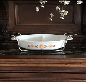 Vintage 60's Town & Country Divided Casserole Dish 1.5 Quart for Sale in Athens, GA