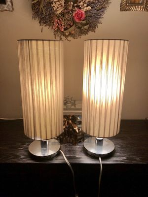 Lamps with silk shades for Sale in Los Angeles, CA