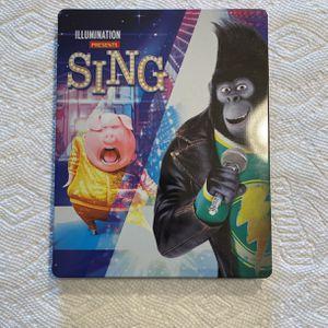 Sing - UHD 4K Blu-ray - steel case for Sale in Frederick, MD