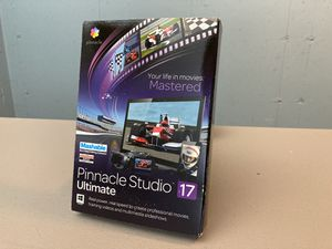 Brand New Pinnacle Studio 17 Ultimate Video Editing Software for Sale in Middletown, CT