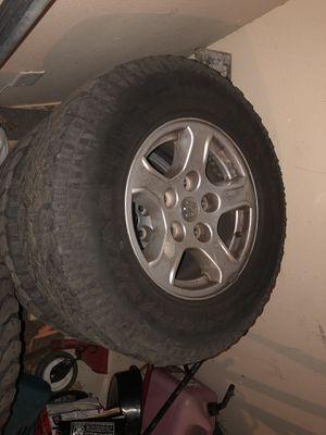 Tires for dodge Dakota or Dodge Ram for Sale in Dallas, TX
