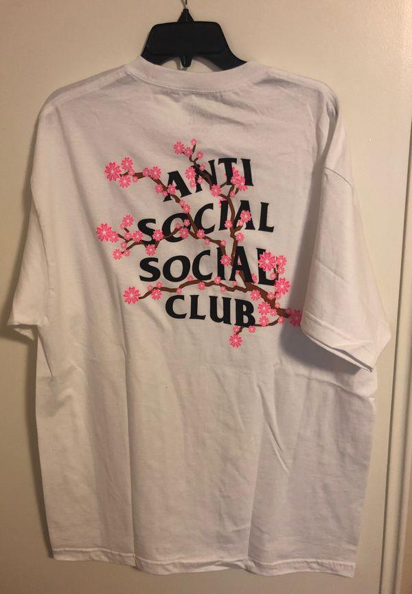 Anti Social Club Tshirt XL