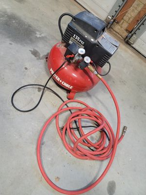 Porter Cable Compressor - 135 PSI for Sale in Chesapeake, VA