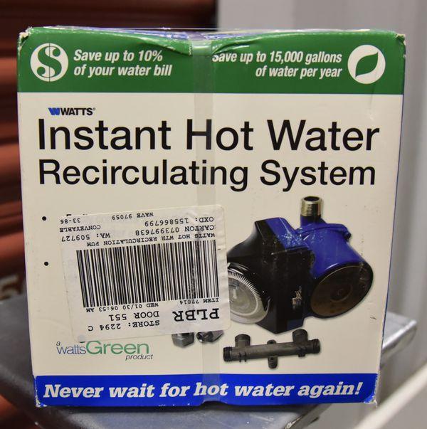❄️WINTER IS COMING❄️ Hot Water Recirculating Pump🔥💧