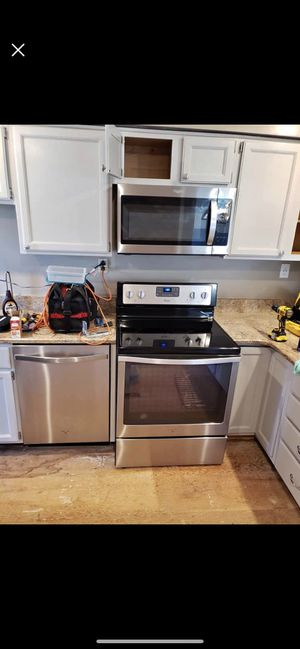 Stainless steel matching appliances for Sale in Chantilly, VA