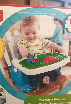 Fisher Price Thomas & Friends Tray Play Booster Seat for Sale in Tampa, FL