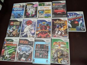 WII GAMES. ( $ 4 EACH ) for Sale in Fort Worth, TX