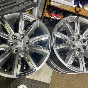 Tahoe LTZ Stock Wheels for Sale in Spanaway, WA