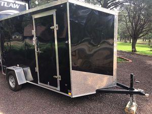 Titan 6x12 enclosed cargo trailer for Sale in Heber-Overgaard, AZ