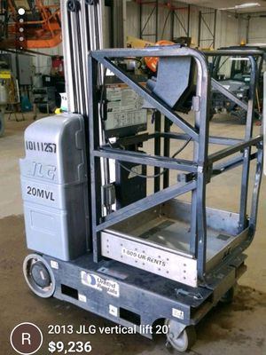2013 JLG vertical lift for Sale in Chippewa Falls, WI