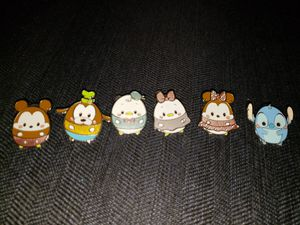 Hong Kong Disneyland Ufufy Pin Set for Sale in Hayward, CA