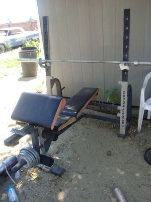 Bench weights bars 160$ for Sale in Fontana, CA