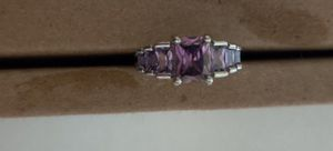 Sterling Silver 925 Tanzanite Amethyst Ring for Sale in Pleasant Hill, IA