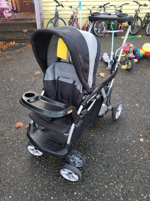 Baby Trend Sit n Stand LX double stroller for Sale in Seattle, WA