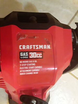 Craftsman weedeater gas 4 cycle 30cc for Sale in Indianapolis, IN