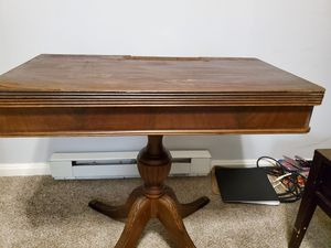 Antique Mohagony Flip Top Game Table for Sale in Brunswick, MD