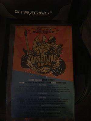 Chris Jericho Cruise Limited Poster for Sale in Tallahassee, FL